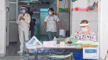 El centro de salud del barrio Casiano Casas, donde el martes se tomaron 47 muestras para detectar Covid-19 y todas dieron negativo, al igual que en Empalme Graneros.