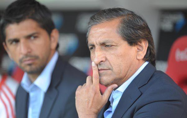 Lo Piensa. El Pelado Díaz quiere recuperar el terreno perdido en la tabla de posiciones y sabe que para ello deberá vencer en el Monumental a Atlético de Rafaela