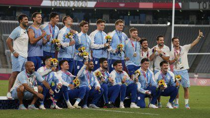 Los Pumas 7s lograron la, hasta el momento, única medalla para la Argentina. Ahora quieren volver a casa.