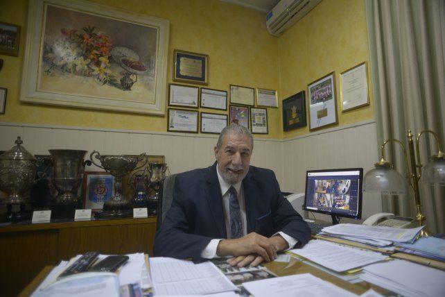 El titular de la ARF: Giammaría pidió a toda la comunidad del fútbol local a seguir con el cumplimiento de los protocolos establecidos.