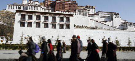 Diplomáticos occidentales piden acceso libre a todo Tibet