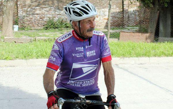 La receta de Rossi. Llevar una vida sana y hacer deporte dice que es su secreto a los 82 años.