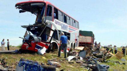 La tragedia de los chicos de la escuela Ecos se produjo el 8 de octubre de 2006 a la altura de Margarita, en el norte santafesino.