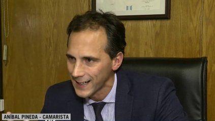 El juez Aníbal Pineda es uno de los autores del fallo con el que se normalizará la Cooperativa de Portuarios.