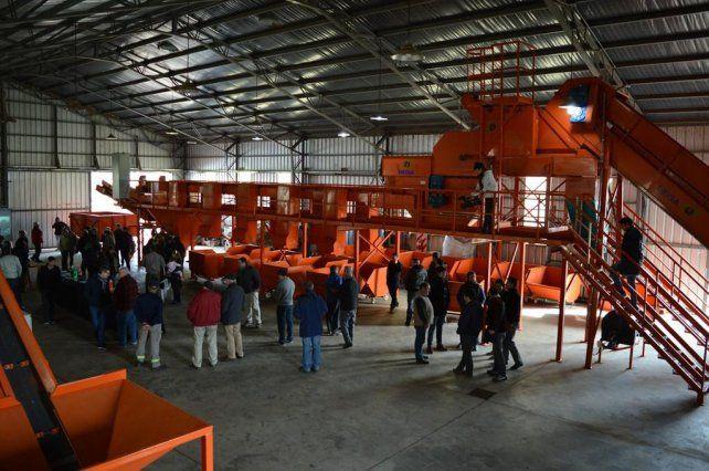 Modelo. La planta de tratamiento de residuos sólidos es un pilar del proyecto Venado Sustentable.