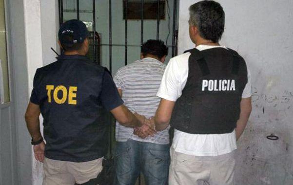 Captura. Efectivos de la TOE detuvieron el domingo a la noche a los hermanos Luciano y Matías A. en zona oeste.