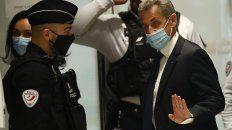 Nicolás Sarkozy es el primer ex presidente de Francia en sentarse en el banquillo y en recibir una condena de cárcel.