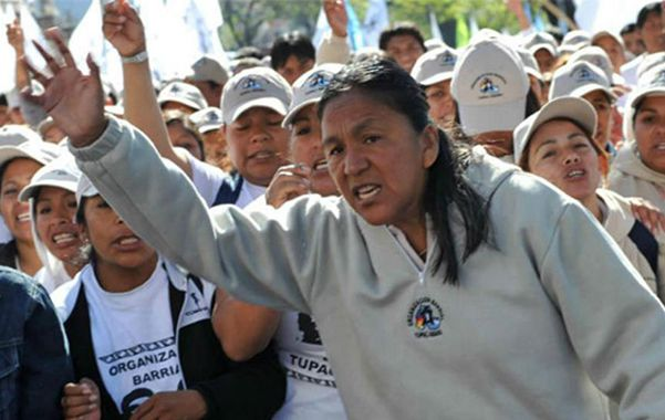 """Respaldo social. Voceros de la Túpac Amaru afirmaron que Sala """"está bien de salud"""