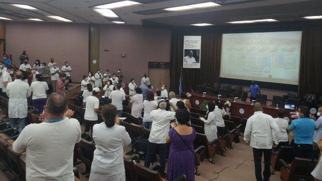 Cuba asegura que su vacuna Abdala tiene una eficacia mayor al 92 por ciento