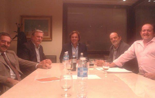 Armado. El jefe de Gabinete de Scioli se reunió con el diputado Lacava.