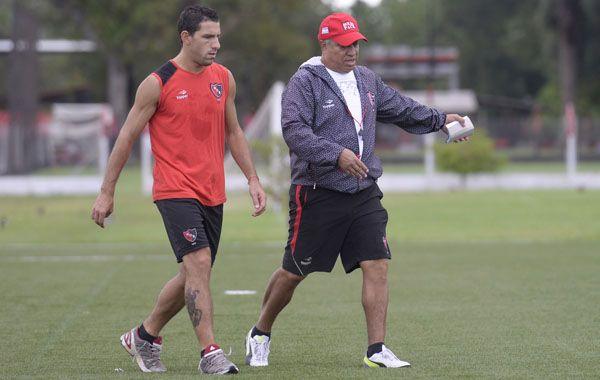 Maxi Rodríguez y el Tolo Gallego