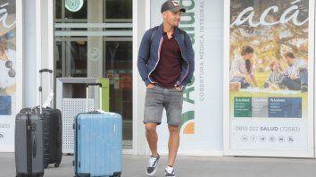 ¿Hace las valijas? Martínez aún se entrena en el equipo del Kily.