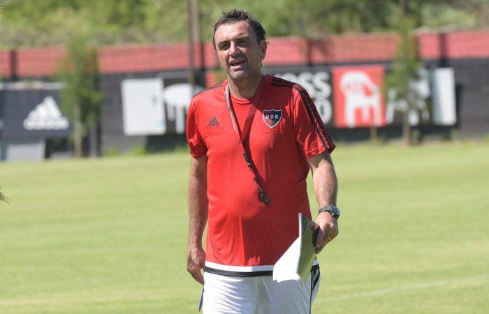 Osella hará su debut como DT del rojinegro el viernes ante Unión.