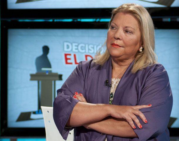 Carrió convocó a marchar el 18 por la muerte de Nisman.