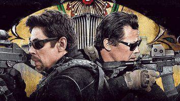 Benicio del Toro y Josh Brolin encabezan el reparto de una cruda y nueva historia de narcos y policías en la frontera entre México y EEUU.