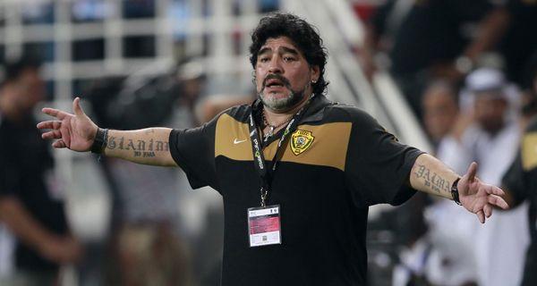 El equipo de Maradona despidió el año con una derrota