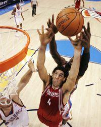 NBA: de la mano de Scola, Houston Rockets le ganó a Oklahoma City Thunder