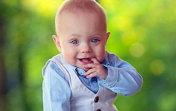 Campeón. El nene ya tiene un año. Pasó 107 días en incubadora.