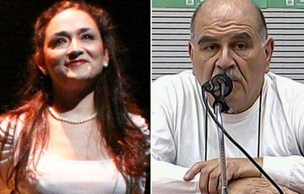 Polémica. La actriz Andrea Jaet es una de las ex alumnas que denunció ayer al profesor Miguel Angel Porro.