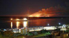 los incendios en las islas son intencionales y en su mayoria frente a rosario