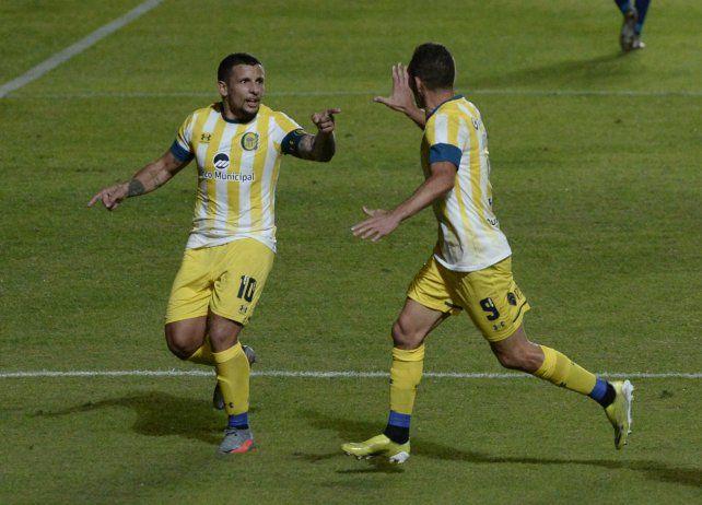 Central disfrutó del fútbol de Vecchio y Ruben.