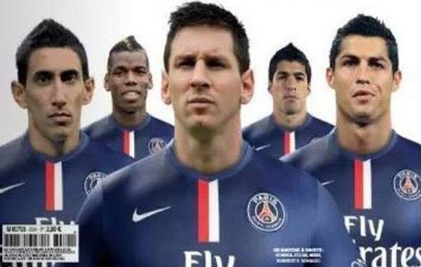 La portada de la revista France Football causó gran impacto mediático.