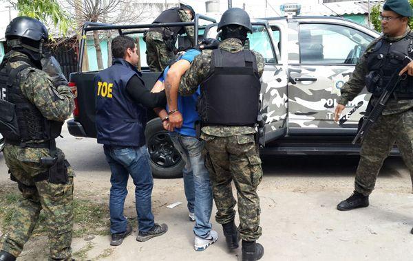 El joven fue detenido en Jazmín al 7100