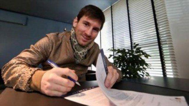 Messi demandará a cinco exdirigentes de Barcelona por la filtración de su contrato