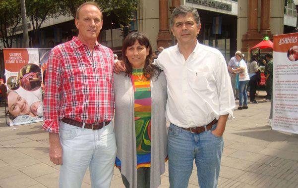 Raúl Ponzio y Soledad Diez de Tejada