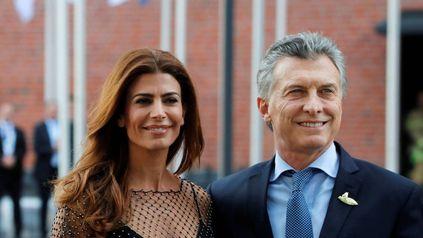 Juliana Awada le dio su apoyo al ex presidente Mauricio Macri.