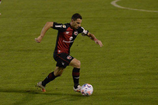 Maxi Rodríguez será baja en Newells por los próximos tres partidos