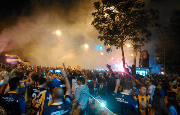 Los vecinos de la ciudad sufrieron los estallidos de la pirotecnia del festejo de cumpleaños de Rosario Central.
