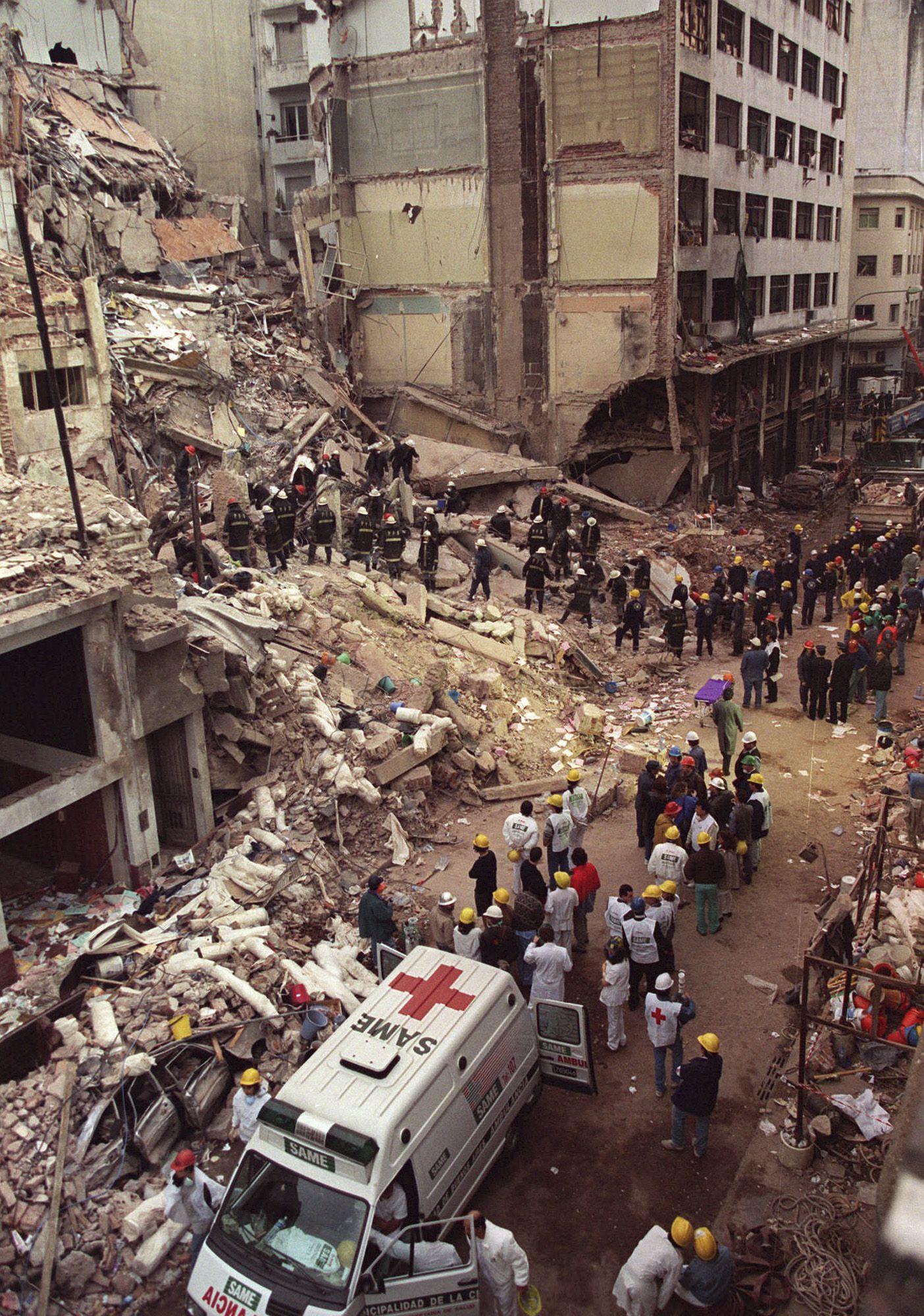 En el ataque a la Amia murieron 86 personas. Sucedió el 18 de julio de 1994.
