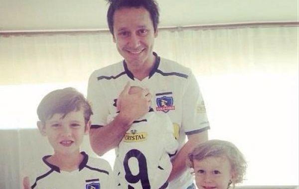 Benjamín subió la foto de presentación de su hijo Benicio