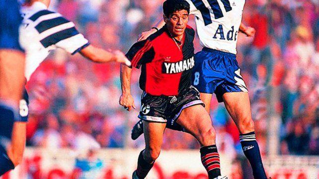 Cuando llegó a Newell's, tuvo en vilo a toda Rosario. En la temporada 1993 jugó siete partidos pero entró en la historia.
