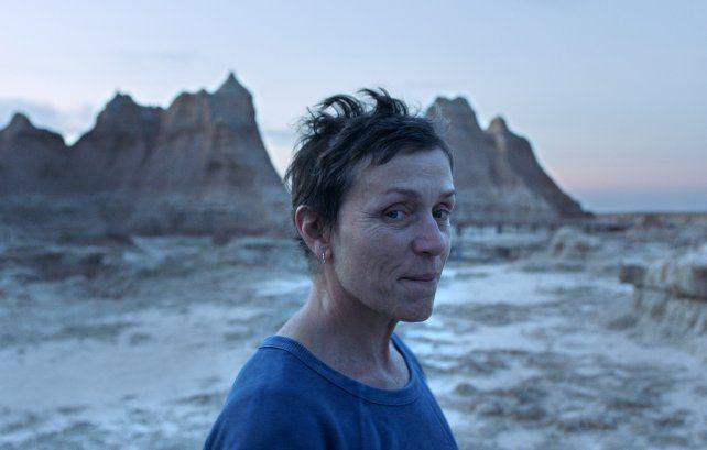 Ganadora. Frances McDormand se llevó todos los laureles en los premios de la crítica estadounidense.