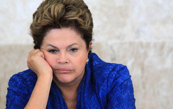 Mala noticia. Dilma llegó al poder en enero de 2011 y desde entonces había crecido en los sondeos. Hasta ahora.