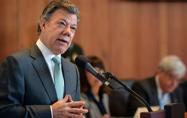 Viraje. Santos habló ante la Corte Constitucional de Colombia.
