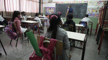 En la provincia, las clases son presenciales desde marzo.