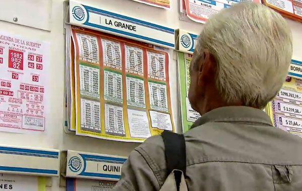 El agenciero vendedor del ticket se adjudicó la suma de 433.470 pesos como premio estímulo. (Foto: Archivo)