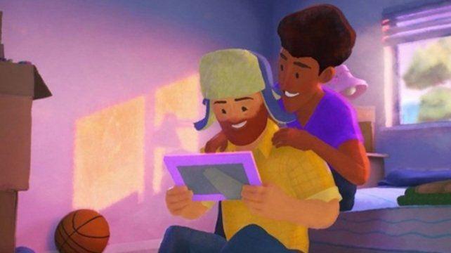 Out. La pareja de la animación.