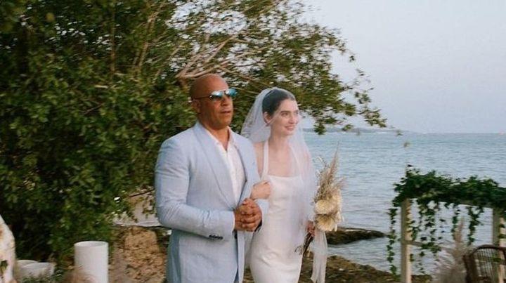 Vin Disel jugó un papel importante en la boda de Meadow , la hija de Paul Walker.