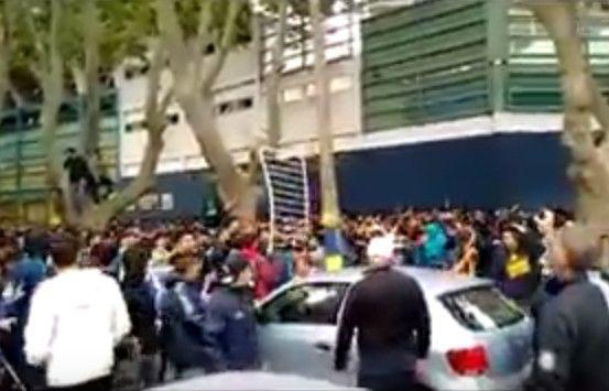 Disturbios en el Gigante durante la venta de entradas para la final de la Copa