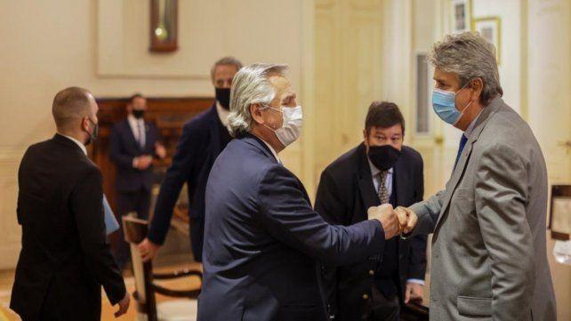 Fernández reiteró el compromiso de su gobierno con el proyecto de ley de promoción de inversiones que impulsa el sector agroindustrial.