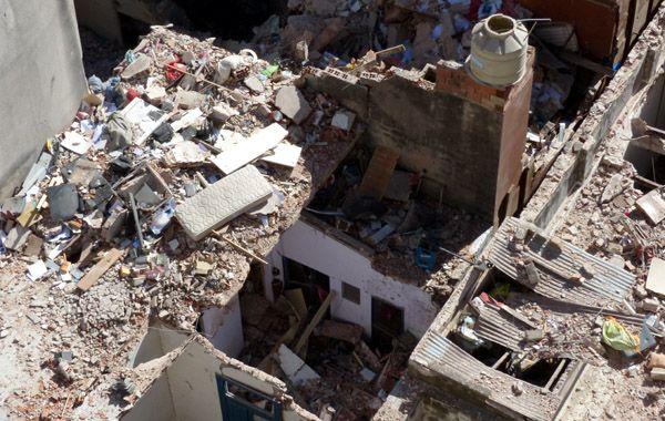 Las demoliciónes van a comenzar antes que las pericias