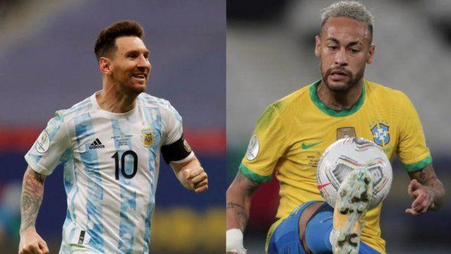 Dueños de la pelota. Neymar y Messi jugarán un partido aparte. El que imponga condiciones y gravite será campeón.