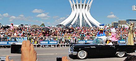 Brasilia cumplió medio siglo opacada por los escándalos de corrupción