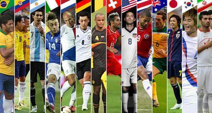 Todas las selecciones presentaron sus listas definitivas de 23 futbolistas para el Mundial de Brasil.