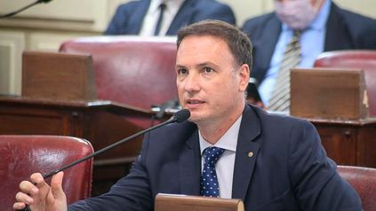 Lisandro Enrico, senador radical por el departamento General López.