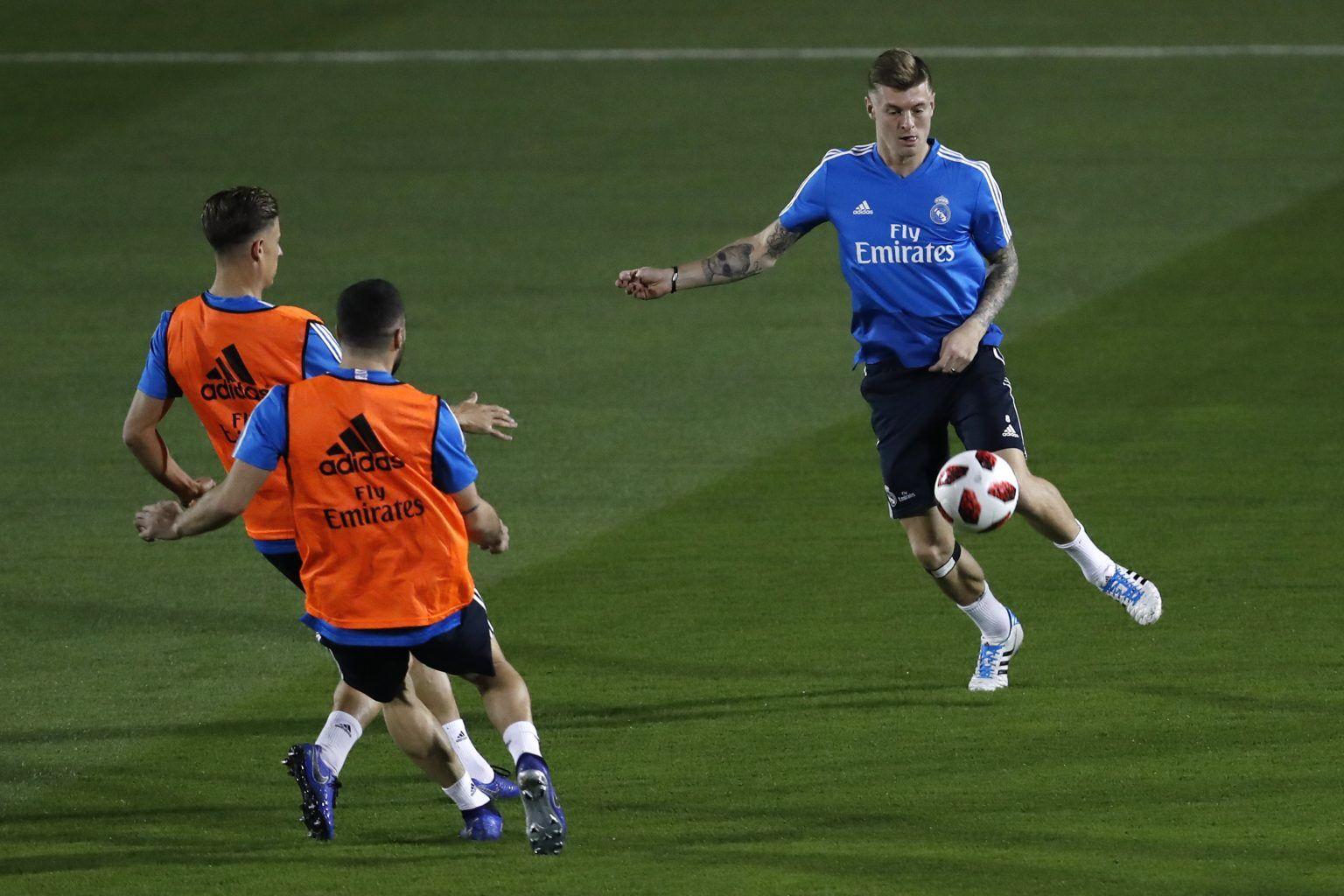 Real Madrid's midfielder Toni Kroos
